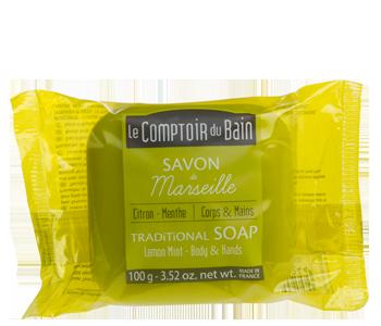 Lemon Mint Traditional Marseille Soap