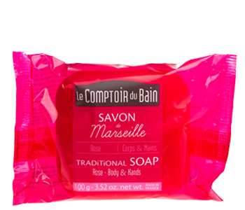 Rose Traditional Marseille Soap