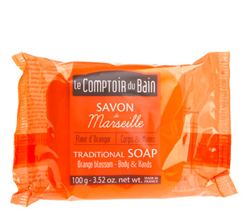 Orange Blossom Traditional Marseille Soap