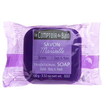 Violet Traditional Marseille Soap