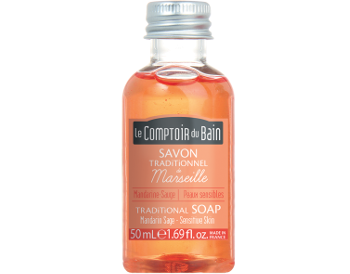 Le Comptoir du Bain Mandarin Sage Traditional Soap  50 mL
