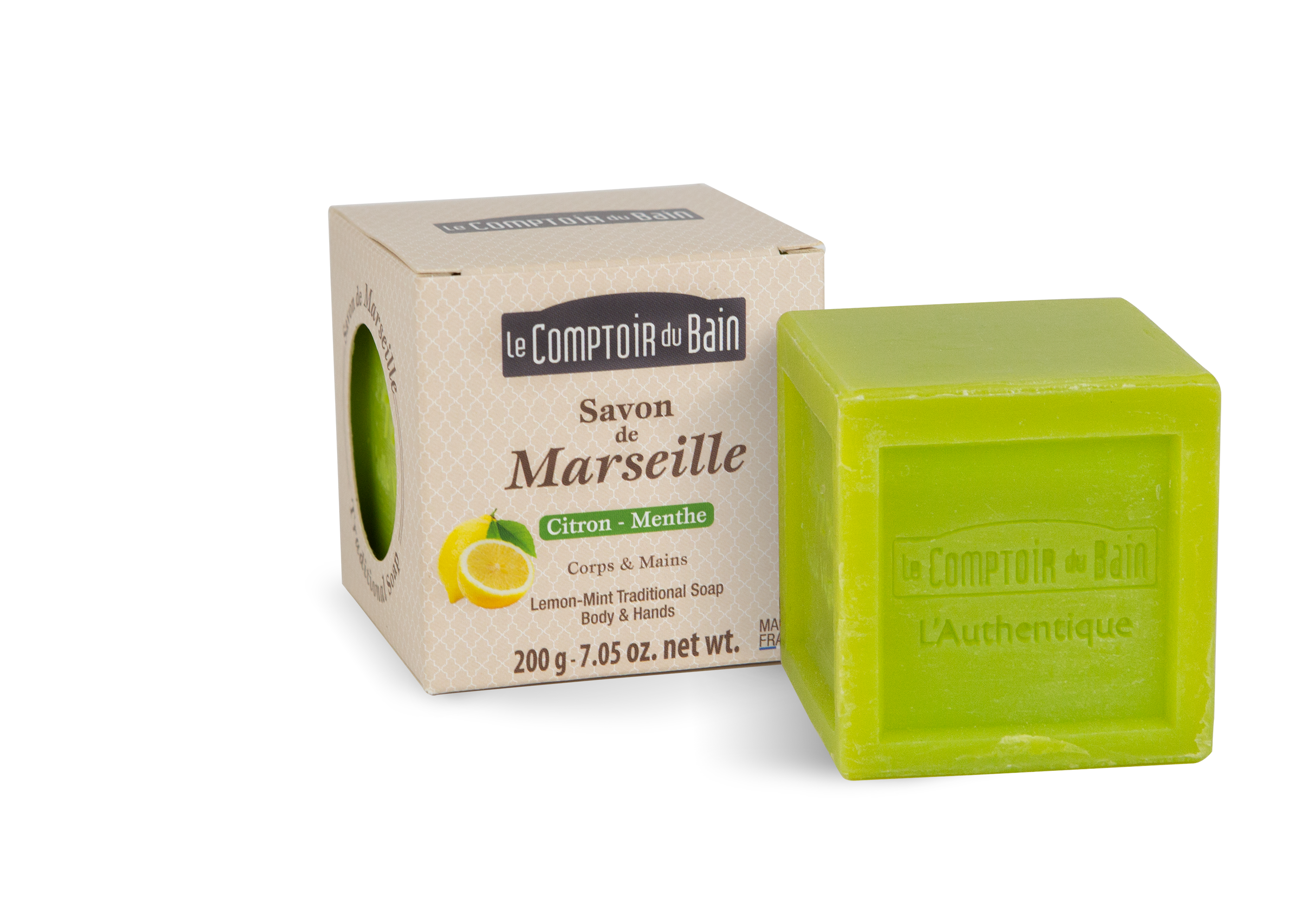 Lemon-Mint Traditionnal Soap