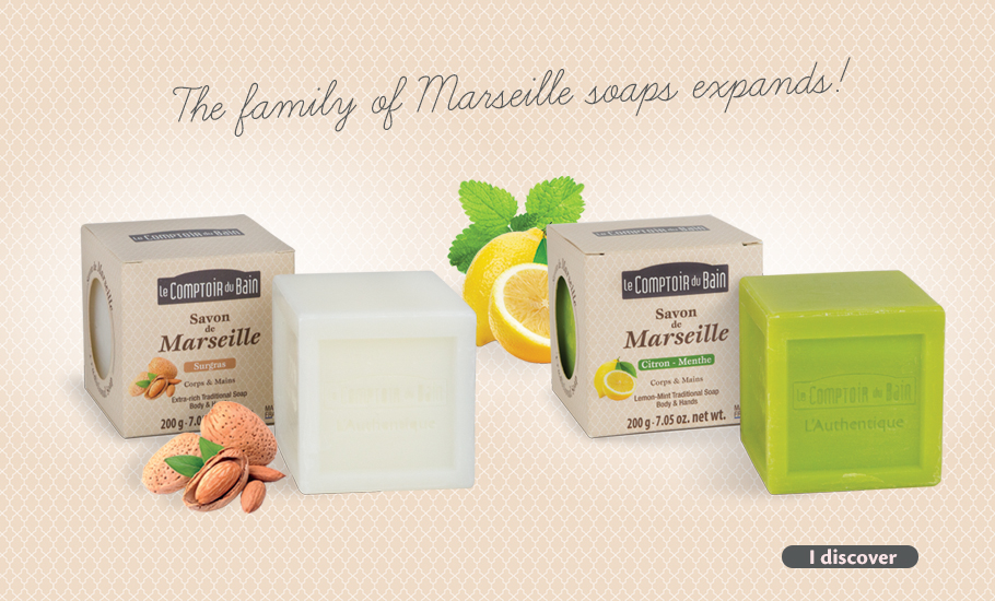 The Family of Marseille soaps expands !